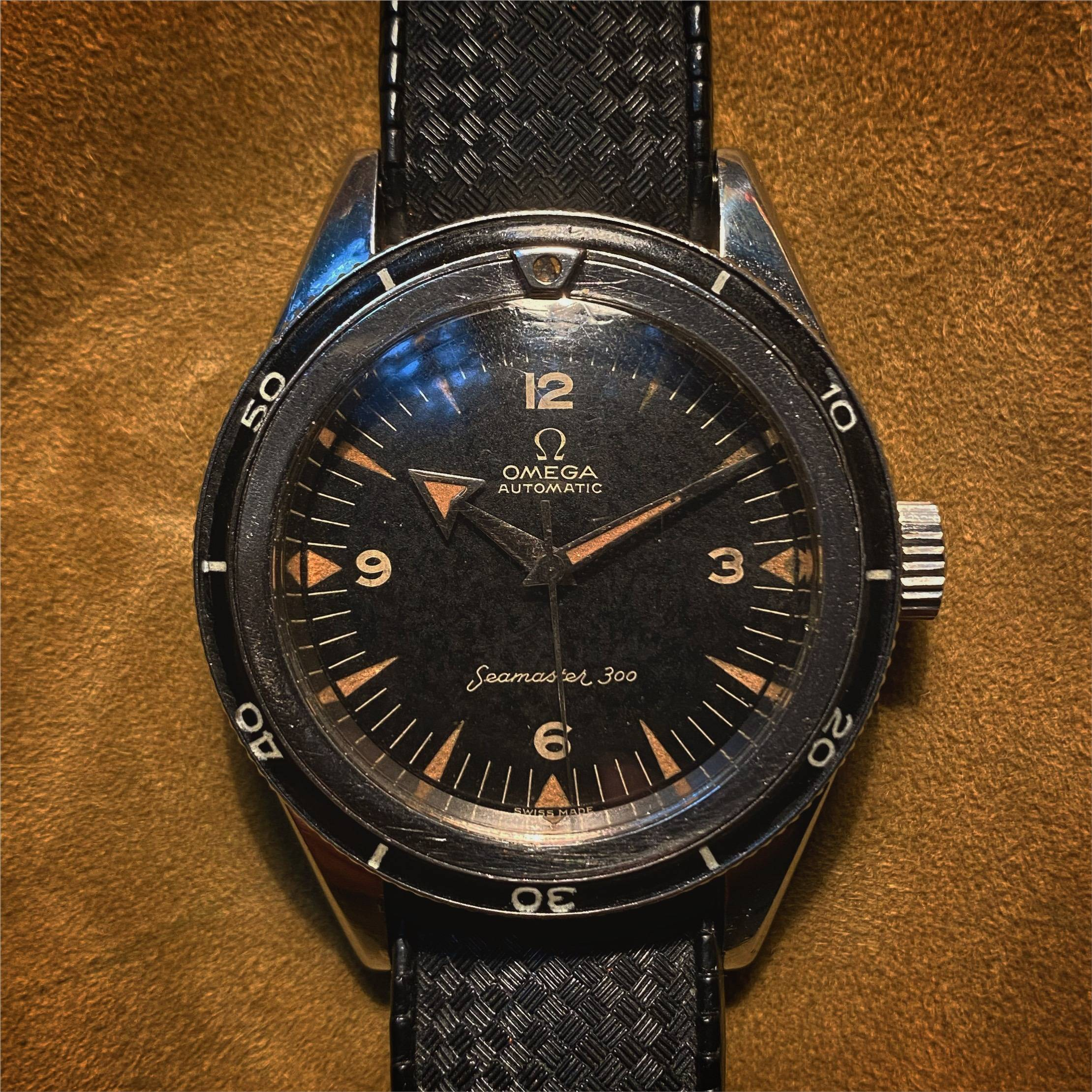OMEGA SEAMASTER 300 'Broad Arrow'-1