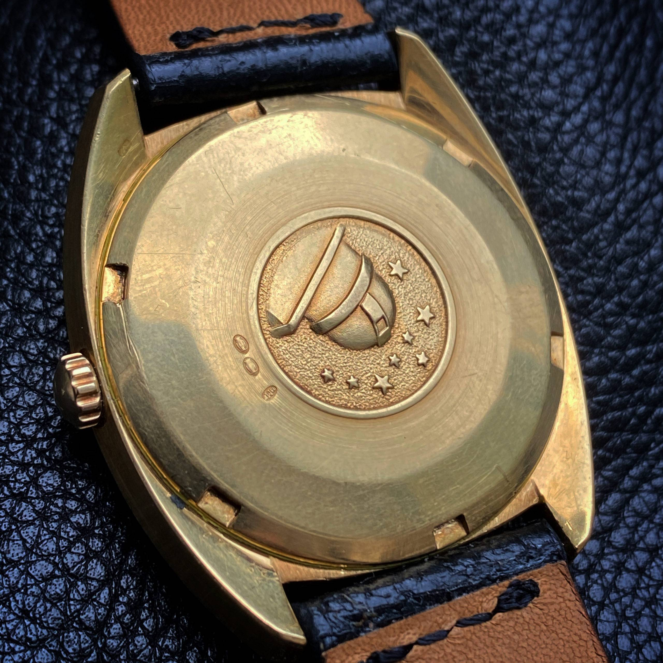 OMEGA CONSTELLATION  'C-CASE' SOLID GOLD-5