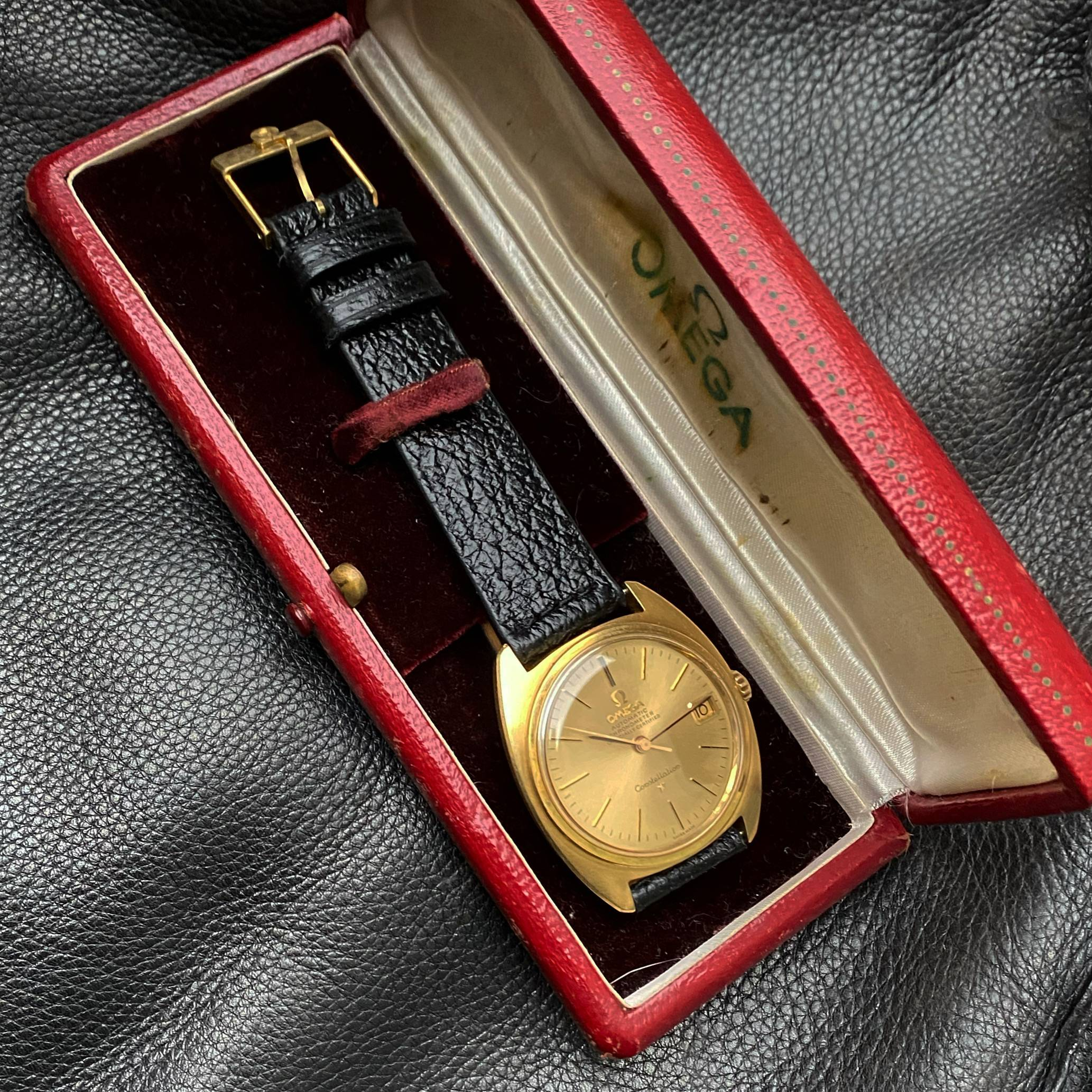 OMEGA CONSTELLATION  'C-CASE' SOLID GOLD-3