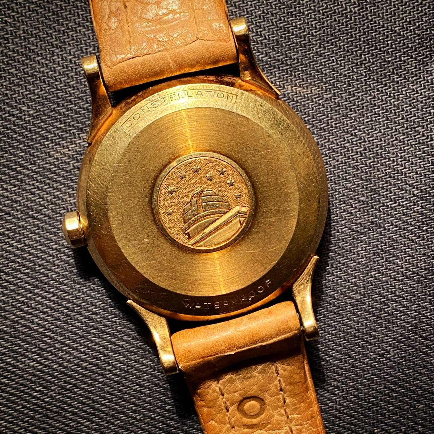 OMEGA CONSTELLATION PIE PAN BOX & PAPER ' BARN FIND '-4