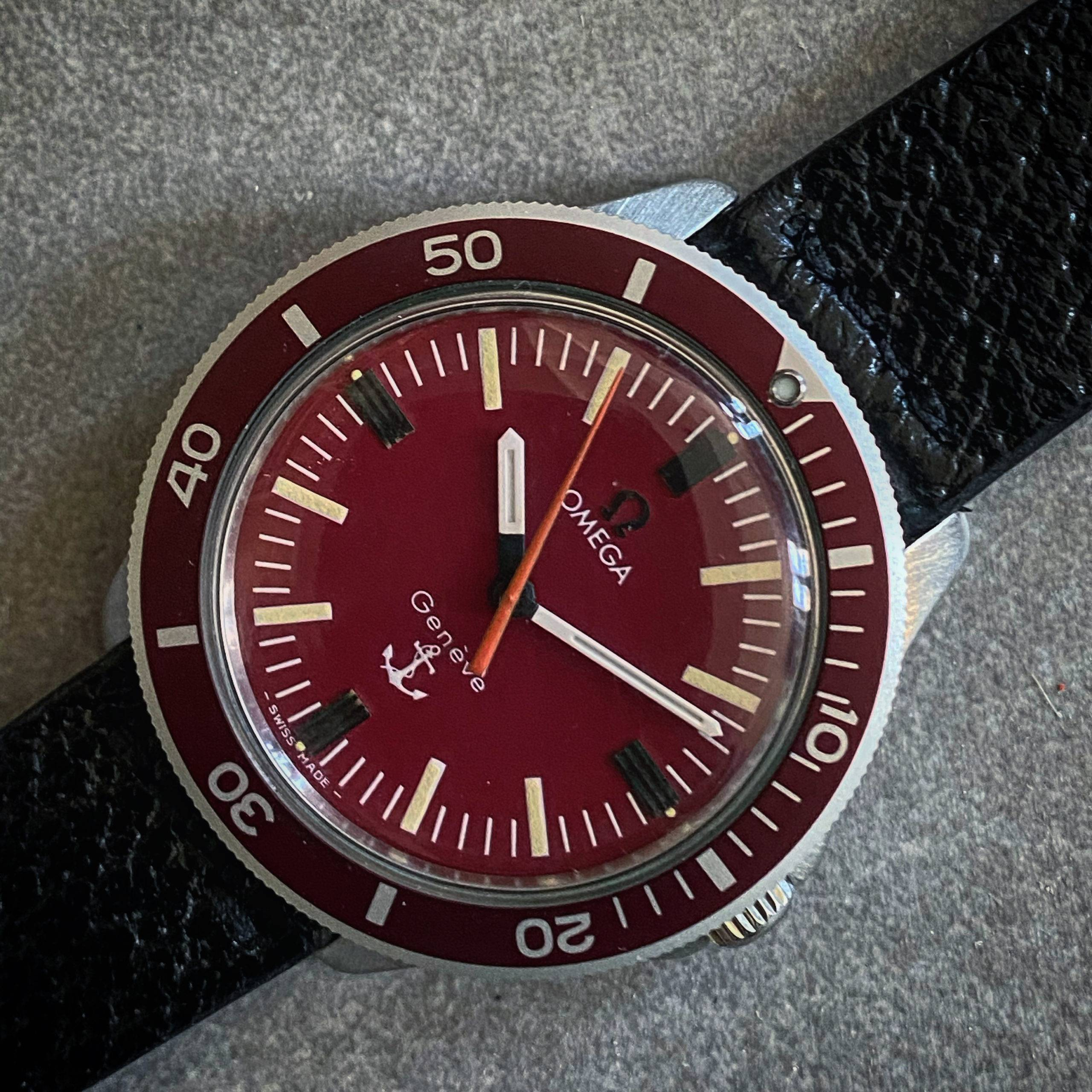 OMEGA GENÈVE RED ANCHOR ADMIRALITY-3