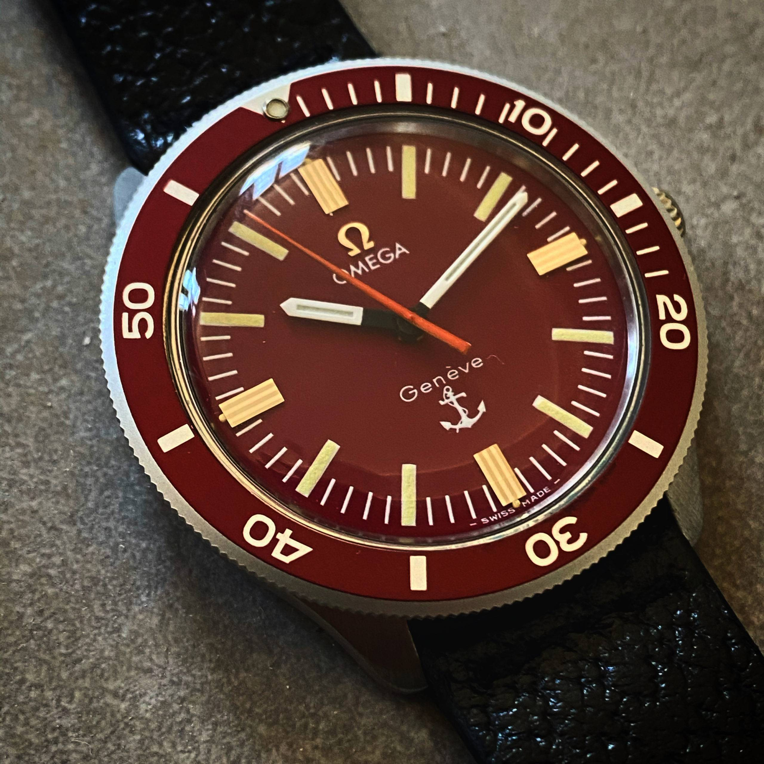 OMEGA GENÈVE RED ANCHOR ADMIRALITY-6
