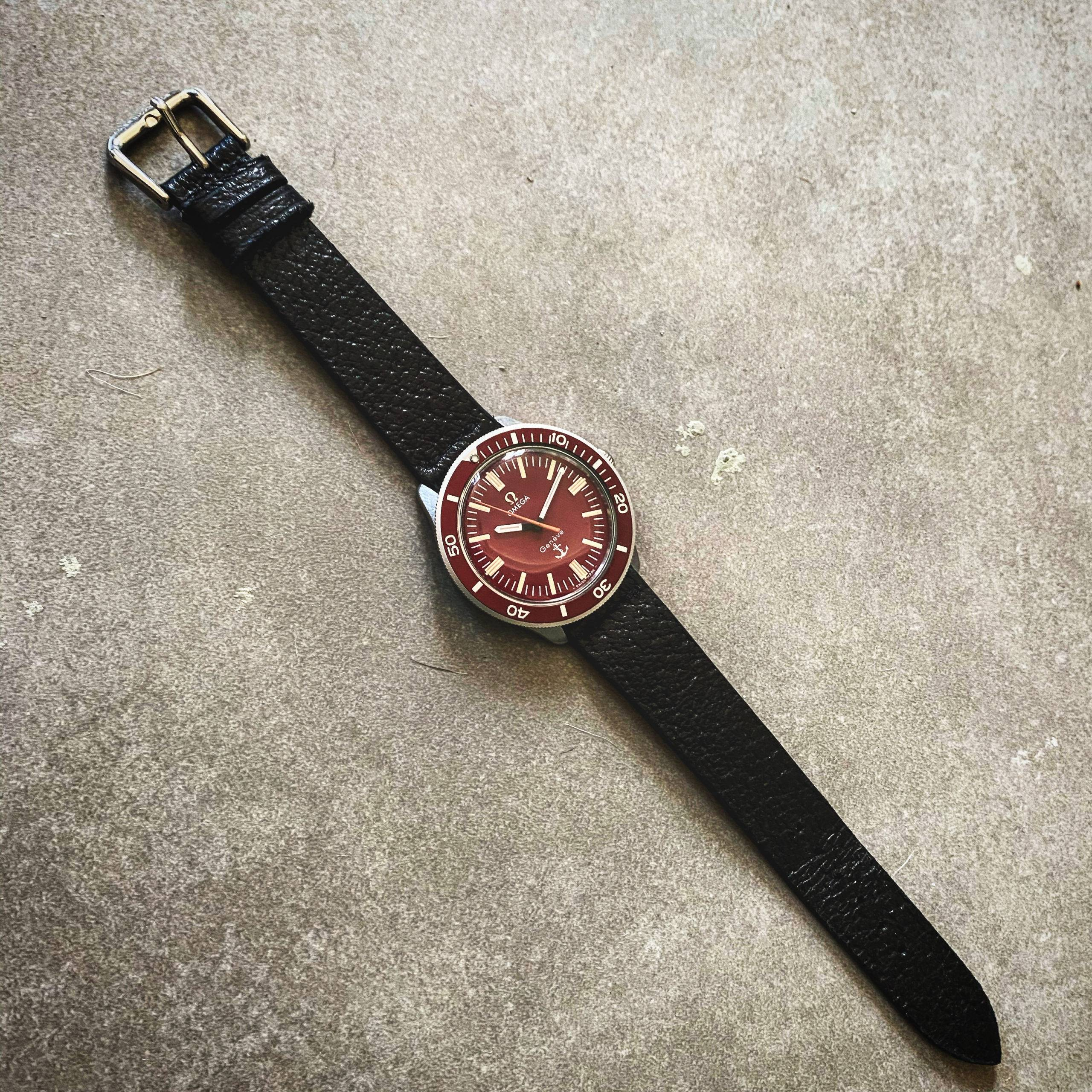 OMEGA GENÈVE RED ANCHOR ADMIRALITY-2