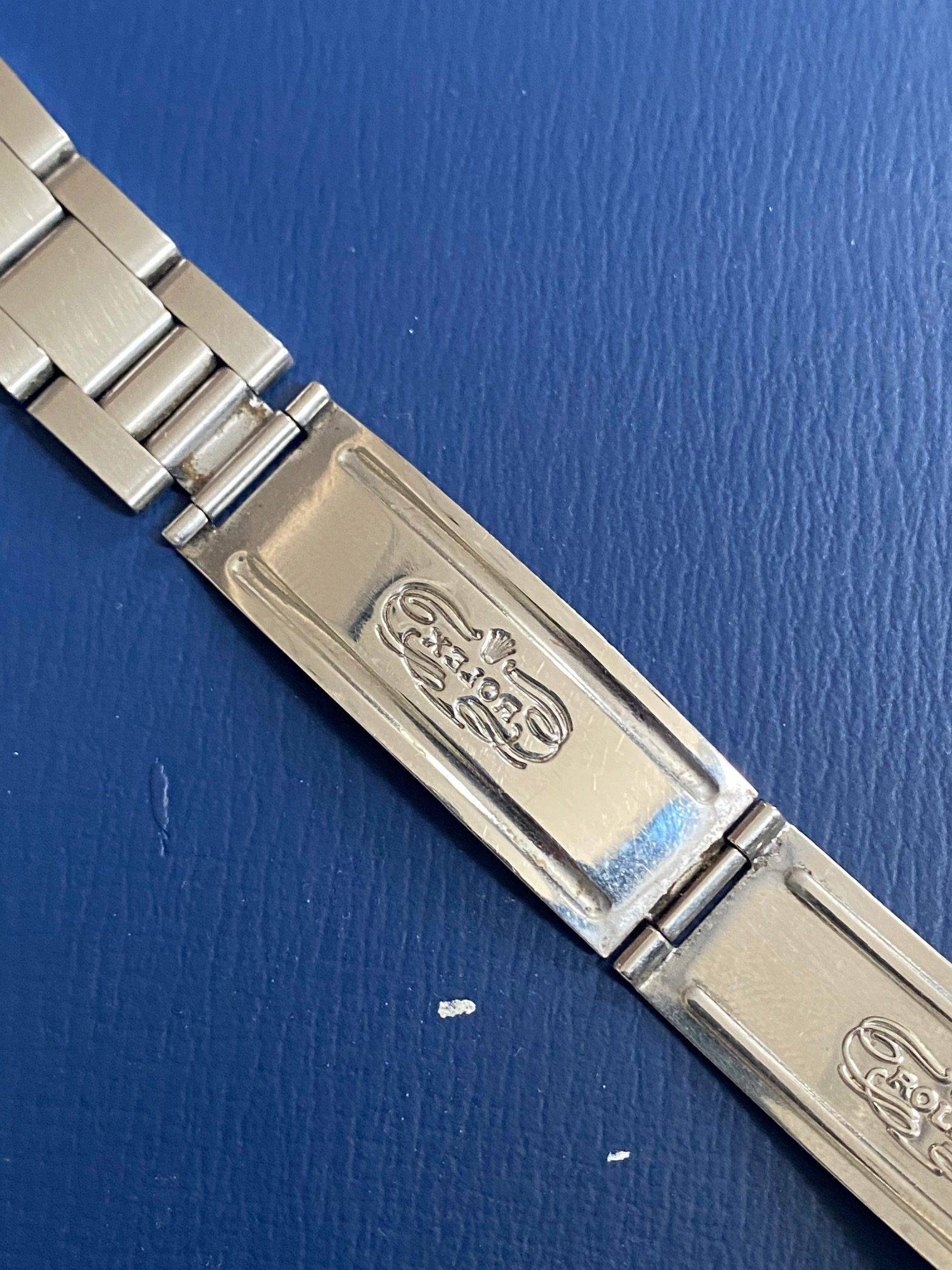 ROLEX OYSTER PERPETUAL DATE ENGINE TURNED BEZEL-4
