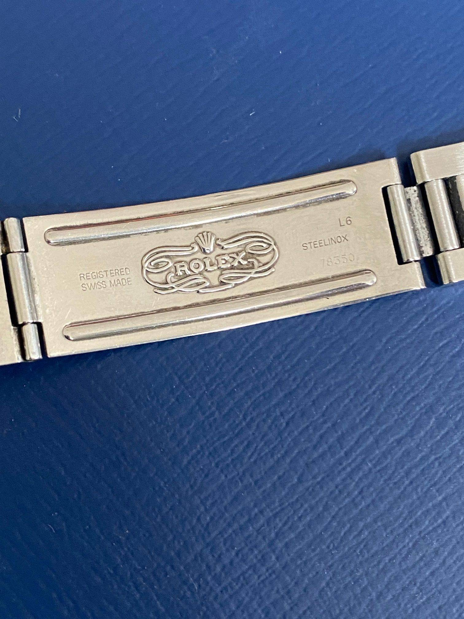 ROLEX OYSTER PERPETUAL DATE ENGINE TURNED BEZEL-5