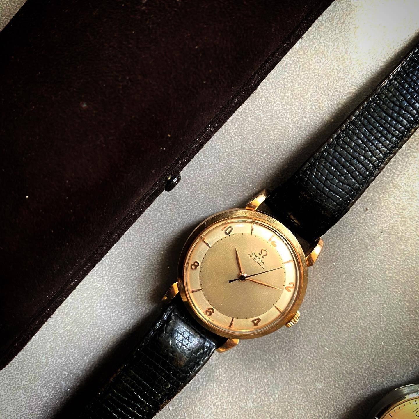 Omega Automatic Bumper Rose Gold Two Tones-2