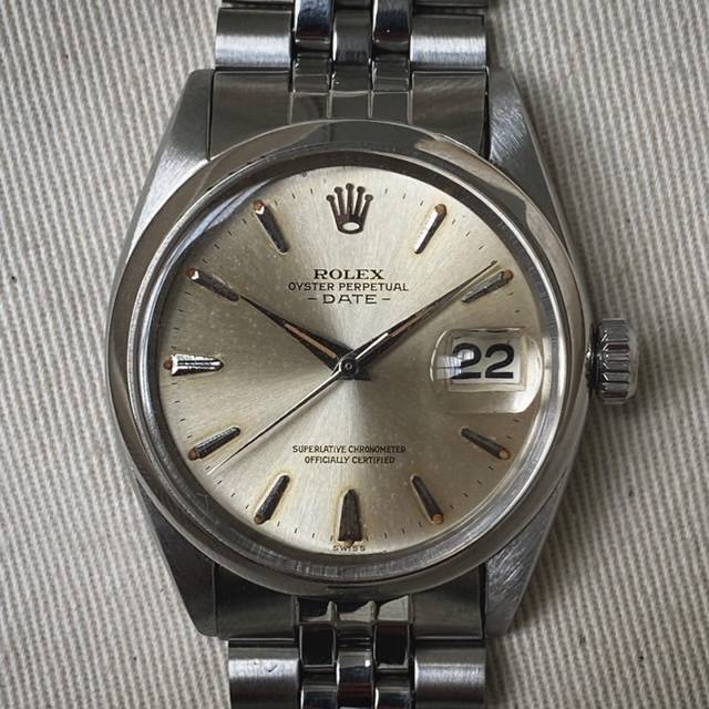 Rolex Oyster Perpetual Date Dauphine Hands-1