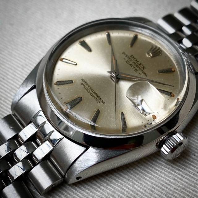 Rolex Oyster Perpetual Date Dauphine Hands-4