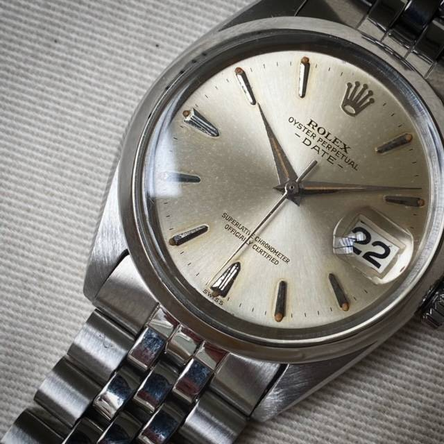 Rolex Oyster Perpetual Date Dauphine Hands-3