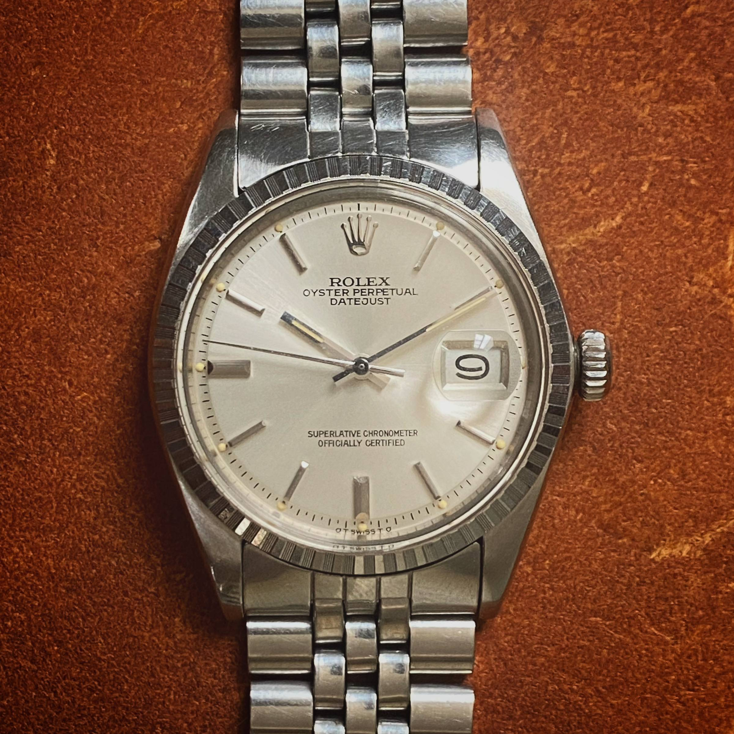 ROLEX OYSTER PERPETUAL DATEJUST SIGMA DIAL-1