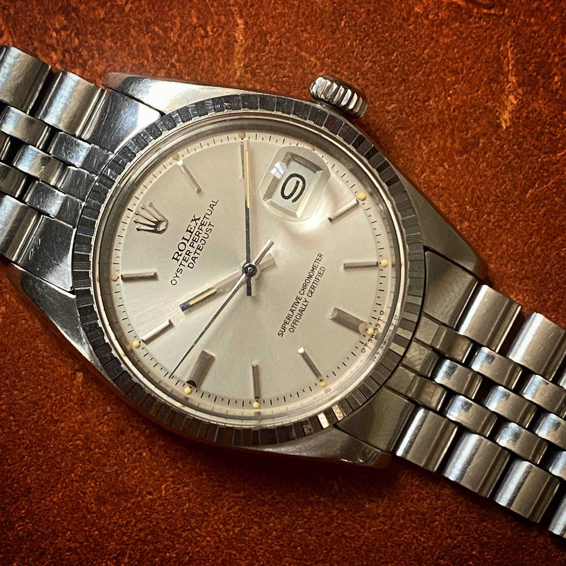 ROLEX OYSTER PERPETUAL DATEJUST SIGMA DIAL-4