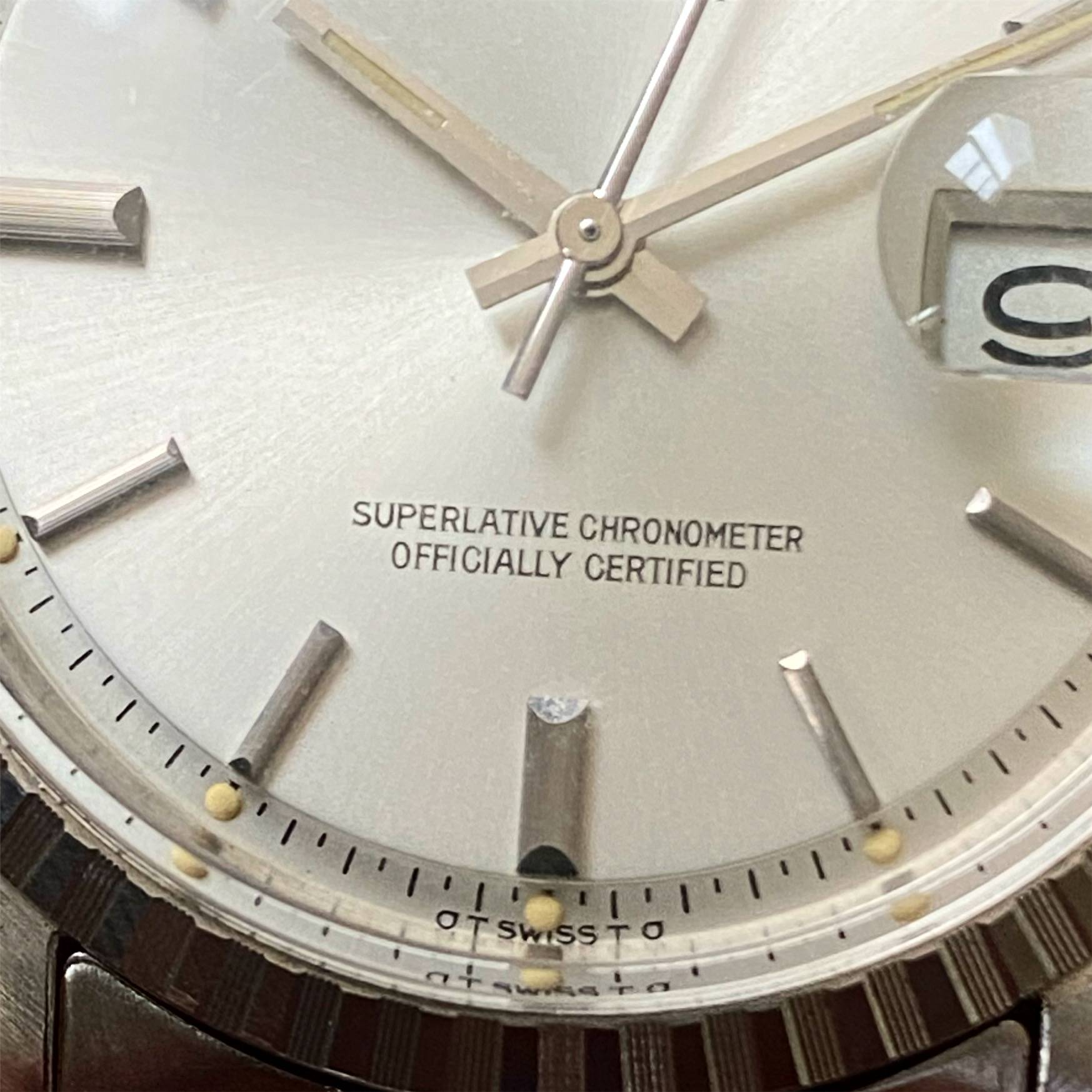 ROLEX OYSTER PERPETUAL DATEJUST SIGMA DIAL-3