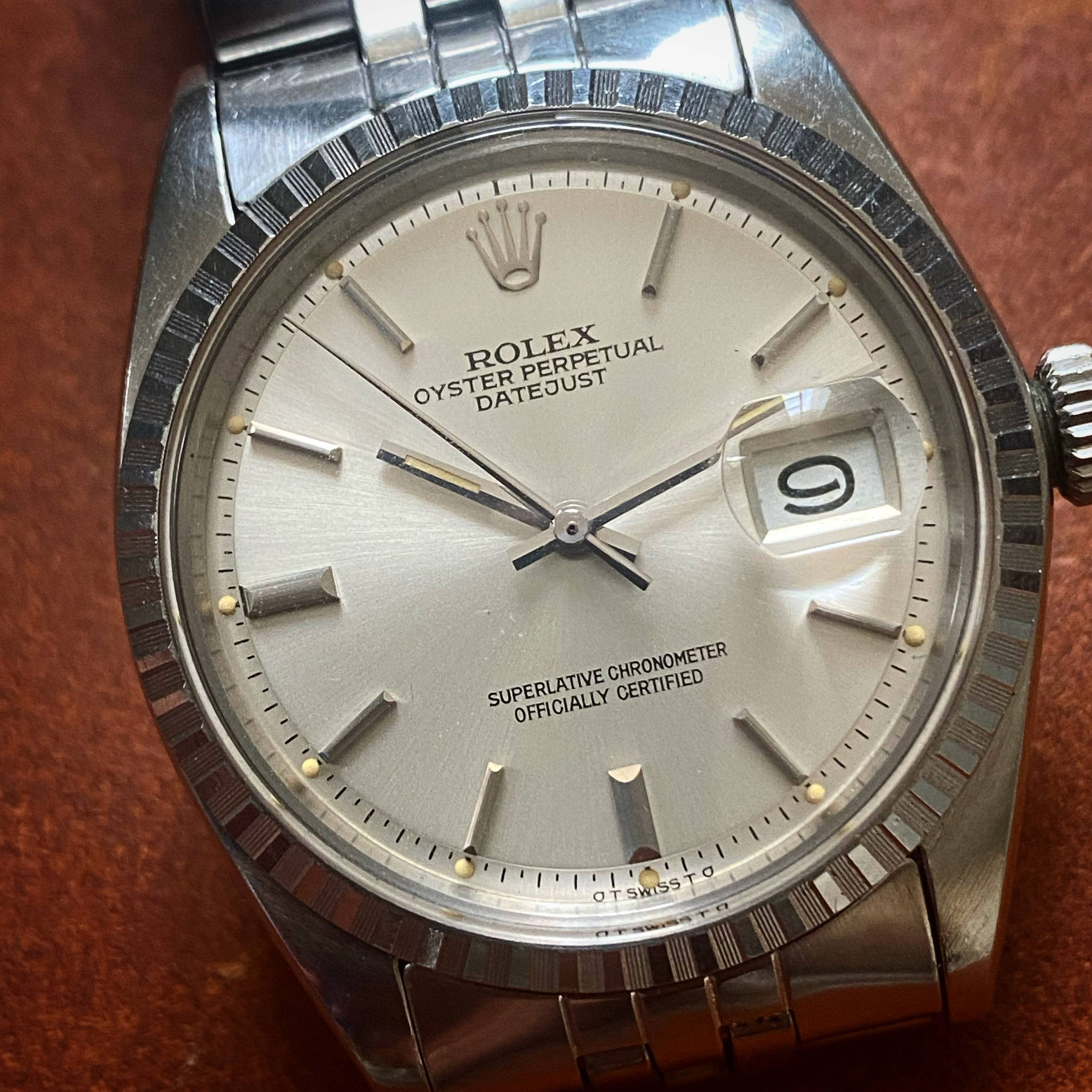 ROLEX OYSTER PERPETUAL DATEJUST SIGMA DIAL-2